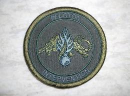 Ecusson Patch Gendarmerie Peloton D'Intervention Kaki - Ecussons Tissu