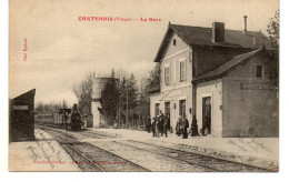 Vosges : Chatenois : La Gare (un Pli) - Chatenois