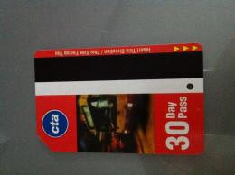 Ticket De Métro Chicago - 30 Jours - Subway