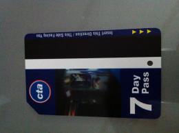 Ticket De Métro Chicago - 7 Jours - Subway