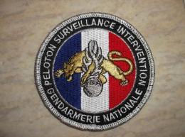 Ecusson Patch Gendarmerie PSIG Bleu Blanc Rouge - Ecussons Tissu