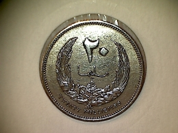 Libye 20 Millièmes 1965 - Libye