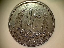 Libye 100 Millièmes 1965 - Libya