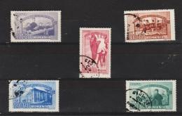 1947 - L Education Populaire Mi No 1042/1046 Et Yv No 947/952 - Usado