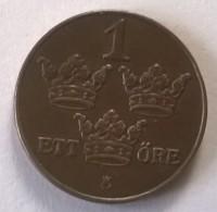 1 Ore 1926 - Suède - - Suède