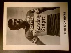 Jean MONTEYNE Flandria De Clerck Krüger Petit Format - Cyclisme