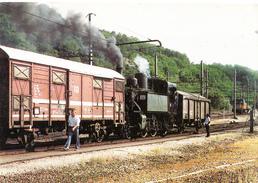 TRAIN,LOCOMOTIVE  Ligne SNCF L L'ARBRESLE STE-FOY-L'ARGENTIERE - Trains