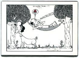 CPM - Illustrateur Jacques LARDIE - La Lourde Tache...!!! - N° 26 Sur 150 Ex. Numérotés - Satiriques