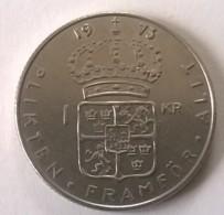 1 Kr 1973 - Suède - TTB - - Suède