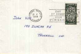 Canada - FDC 21-05-1969 - 50 Jahre Internationale Arbeitsorganisation (ILO) - M 435 - 1961-1970