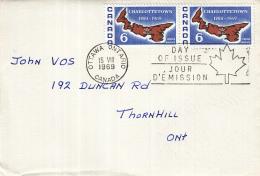 Canada - FDC 15-08-1969 - 200 Jahre Charlottetown Hauptstadt Von Prince Edward Island - M 441 - Omslagen Van De Eerste Dagen (FDC)