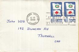 Canada - FDC 15-08-1969 - Erste Kanadische Sommerspiele In Halifax-Dartmouth - M 442 - Omslagen Van De Eerste Dagen (FDC)