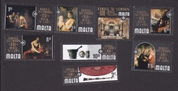 Malta, Scott #409-416, Mint Never Hinged, 13th Council Of Europe Art Honoring Order Of St John, Issued 1970 - Malta