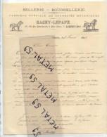 Caudry, Lettre Sellerie Bourrellerie Bachy Lepape, 1898 (illustrations) - Non Classés