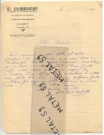 Caudry, Pâtissier Confiseur Dubrulle, 1942 - Non Classés