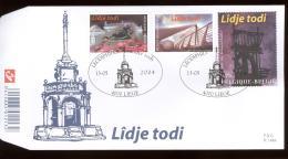 2004  FDC 1464  OCB 3275/77  COTE 7,50 - LIEGE  LUIK  LIDJE TODI - 2001-10