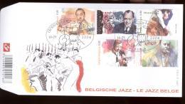 2004 FDC 1467 OCB 3284/88  COTE 7,50 - LE JAZZ BELGE   - BELGISCHE JAZZ - FDC