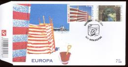 2004 FDC 1469   OCB 3291/92  COTE 7,50 - EUROPA - 2001-10