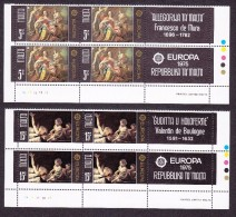 Malta, Scott #495-496, Mint Never Hinged, Allegory Of Malta, Judith And Holofernes, Issued 1975 - Malta