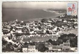 44 - PIRIAC-SUR-MER - Le Camping Et Vue Générale - Gaby 12 - 1966 - Piriac Sur Mer