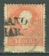 ITALIA - ANTICHI STATI - LOMBARDO VENETO 1858: Sassone 25, O - FREE SHIPPING ABOVE 10 EURO - Lombardo-Veneto
