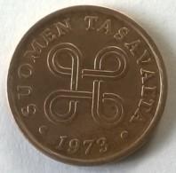 Monnaie - Finlande - 5 Pennia 1973 - - Finland