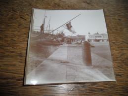 Photographie Ancienne De Cannes Daté 1907, Le Port - Lieux
