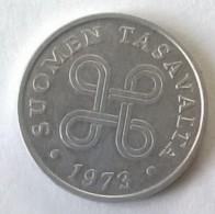Monnaie - Finlande - 1 Pennia 1973 - Superbe - - Finlande