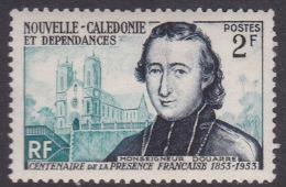 New Caledonia SG 332 1953 French Administration Centenary,2F Douarre MNH - Nuovi