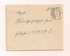 Feldpostbrief Samt Original-Inhalt 6.12.1943 Von Kaumberg Ostmark Nach FP-Nr. 03707 E - Covers & Documents
