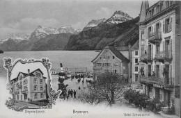 BRUNNEN → Hotel Schweizerhof Am Belebten Quai, Nota Mit Sensationellen Preisen !!! - SZ Schwyz