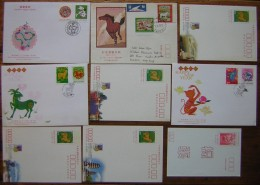 Formose (Taiwan) Lot De 16 Documents FDC Entiers Ou Lettres, Voir Photo Pour Le Détail !