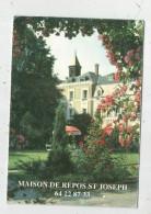 Calendrier , Petit Format , 10.5 X 15 , 1995 , Maison De Repos SAINT JOSEPH , 2 Scans - Calendars