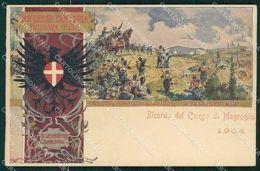 Militari Fanteria 29º Reggimento Brigata Pisa Campo Magreglio Cartolina MT8419 - Reggimenti