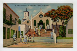 St. Peter's Church, St. George's, Oldest In Bermuda - World