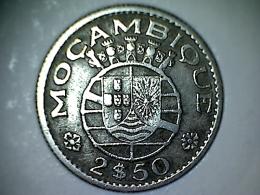 Mozambique 2 1/2 Escudos 1953 - Mozambique