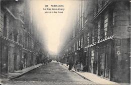 75 - PARIS 14è - La Rue Jean-Vaury Prise De La Rue Friant - District 14