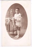 Ancienne Photo GARCON Communion  ALMERIA  1923 - Persone Anonimi