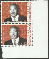 DRC Congo 2001 Martin Luther King 42FC From Complete Sheet Instead Of MS Mint MNH. Not Reported Before!! - Martin Luther King