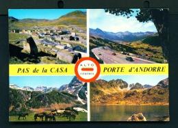 ANDORRA  -  Pas De La Casa  Multi View  Used Postcard As Scans - Andorra