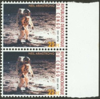 DRC Congo 2001 Neil Armstrong Space 22FC From Complete Sheet Instead Of MS Mint MNH. Not Reported Before!! - Afrika