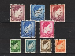 1947 - Roi Michele Mi No 1028/1035 Et Yv No 938/946 - Usati
