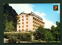 ANDORRA  -  Santa Coloma  Hotel Cerqueda  Used Postcard As Scans - Andorra
