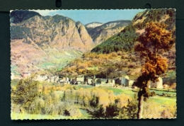 ANDORRA  -  Les Escaldes  Used Postcard As Scans - Andorra