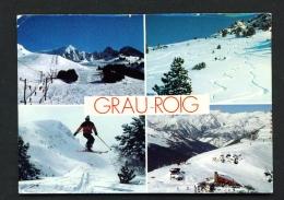 ANDORRA  -  Grau Roig  Multi View  Used Postcard As Scans - Andorra