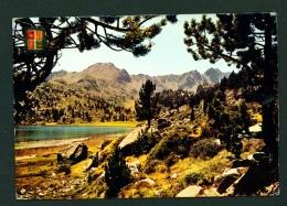 ANDORRA  -  Lake Pessons  Used Postcard As Scans - Andorra