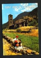 ANDORRA  -  Canillo  San Juan De Casselles Church  Used Postcard As Scans - Andorra