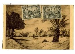 17138  -  Paysage Du Lomami - Katanga - Gravure à L'eau Forte De Henri Kerels - Illustrateurs & Photographes