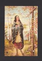 INDIENS DE L´AMÉRIQUE DU NORD - KATERI VIT LE JOUR VILLAGE INDIEN D' OSSERNEMON EN 1656 ELLE MOURUT EN 1680 - Indiens De L'Amerique Du Nord