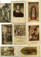 - LOT DE 32 IMAGES RELIGIEUSES . - Andachtsbilder